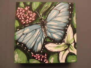 Literary Butterfly Painting Contest, Win An Original Painting By Thyroid Patient And Advocate, Allyson Jones Averell